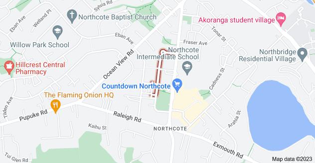 Location of Greenslade Crescent