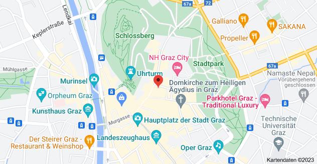 Karte von Sporgasse 32, 8010 Graz