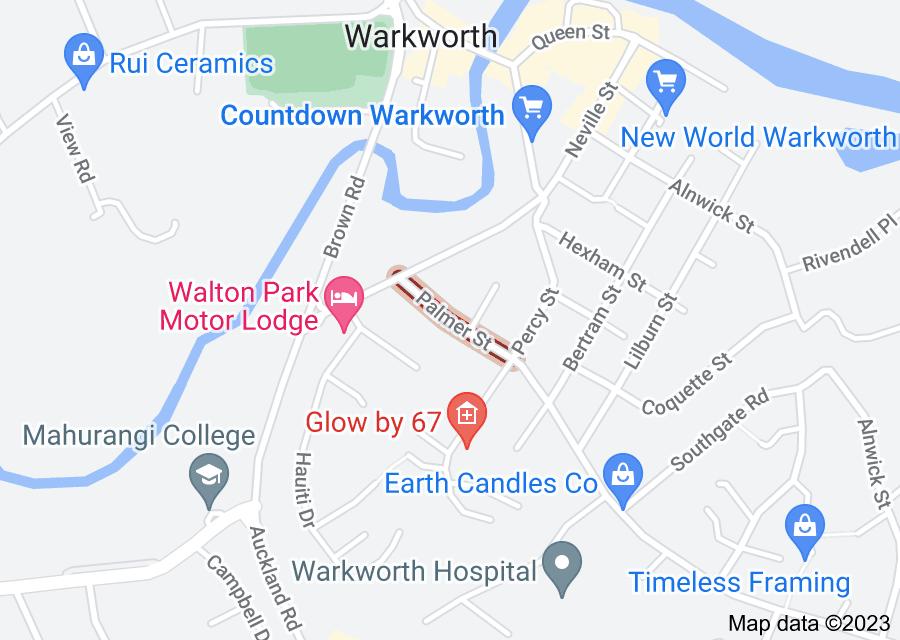 Location of Palmer Street