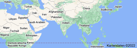 Location of Indien