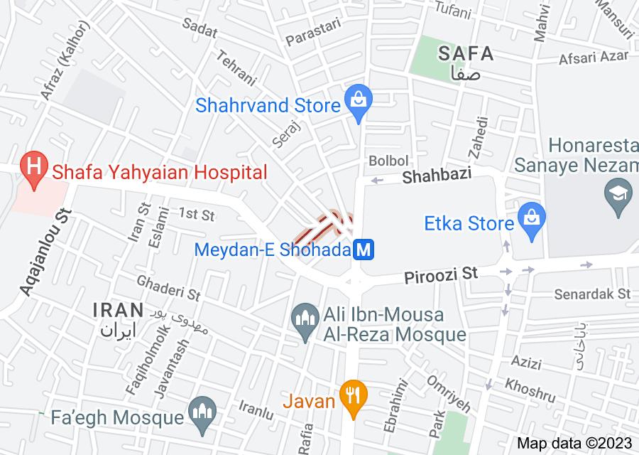 Location of Kazemi