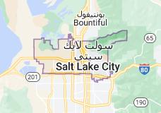 Location of سولت ليك