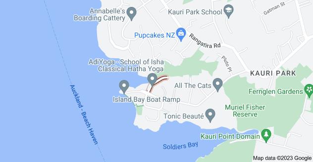 Location of Moller Street