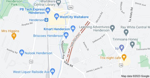 Location of Newington Road
