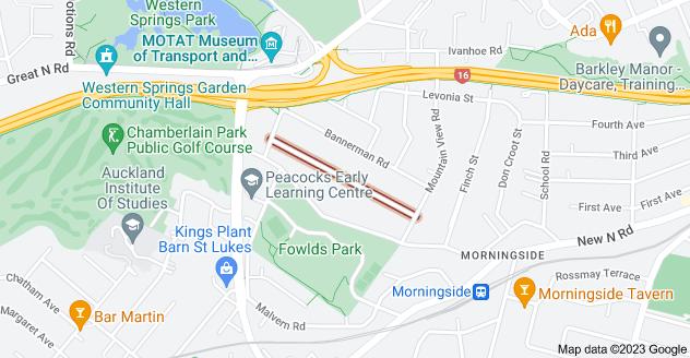 Location of Springfield Road