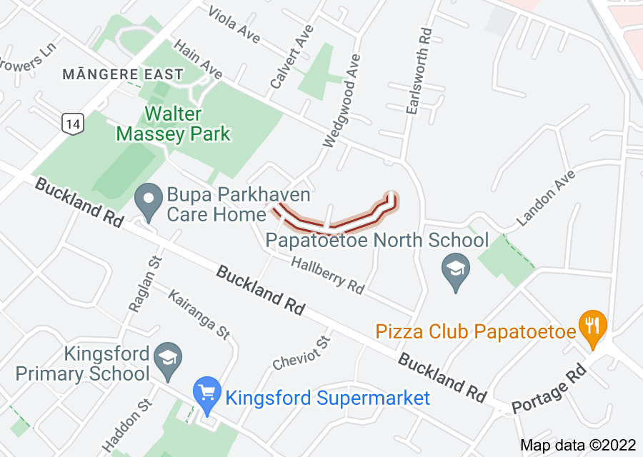 Location of Beryl Place