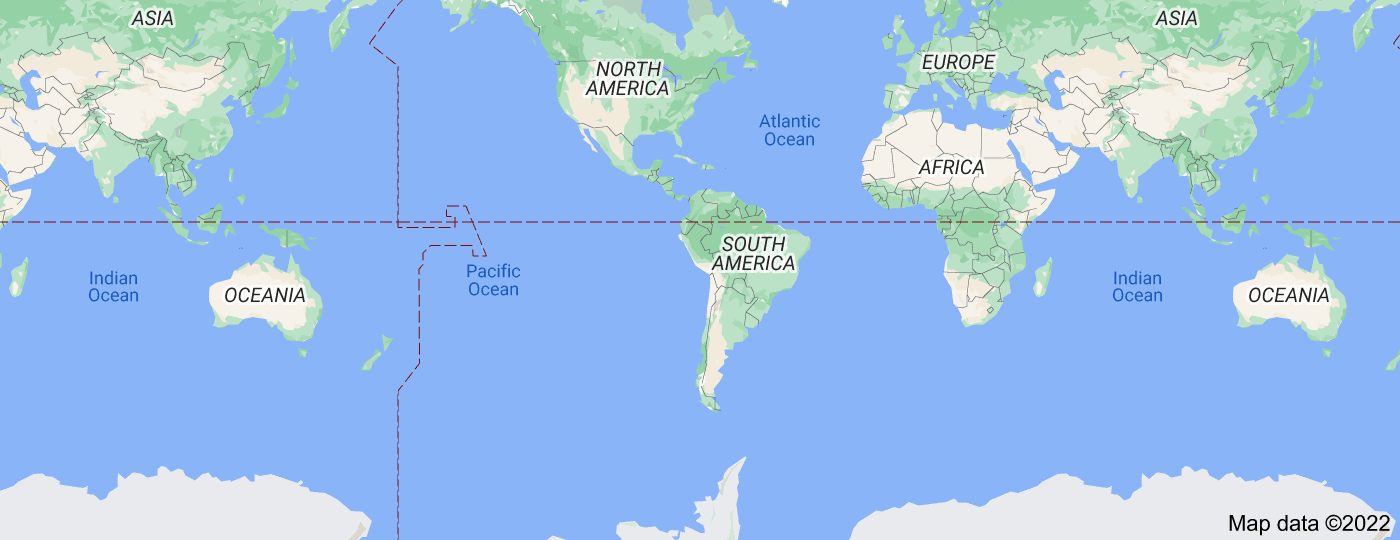Location of Latin America