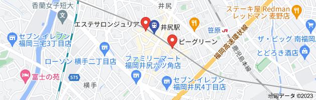 井尻駅 エステの地図