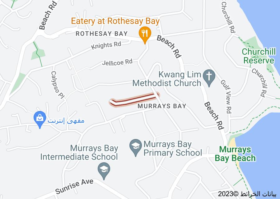Location of Montana Avenue