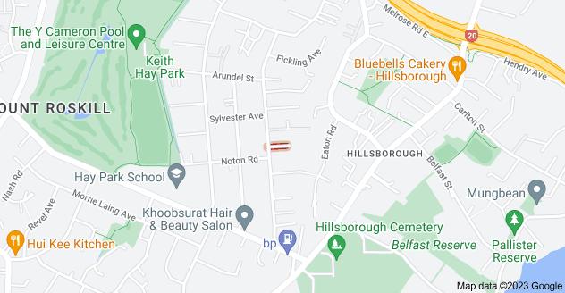 Location of Locke Avenue