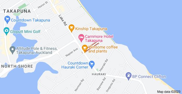 Location of Cameron Street