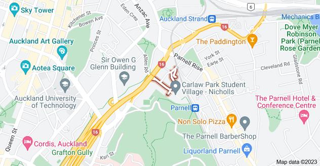 Location of Nicholls Lane