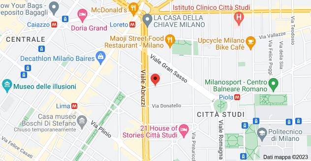 Mappa di: Via Giovanni Paisiello, 6, 20131 Milano MI