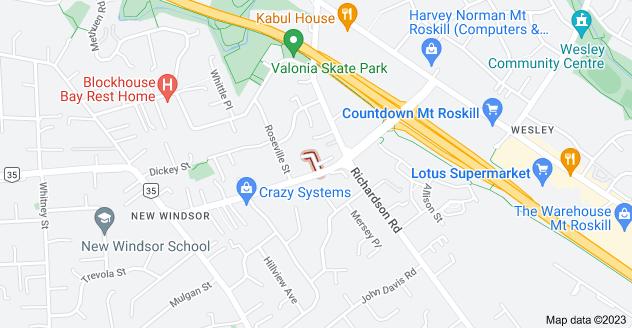 Location of Cordelia Place