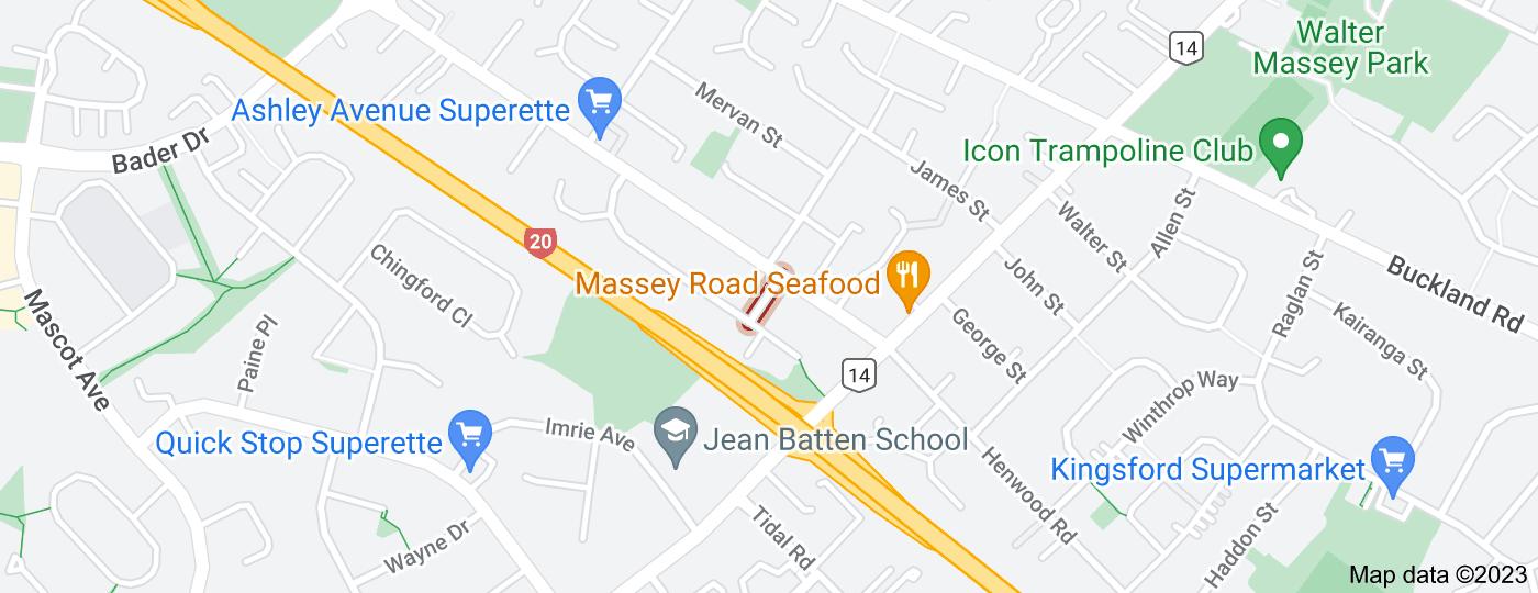 Location of Jacqueline Place