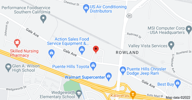 Map of 17055 Gale Ave, City of Industry, CA 91745