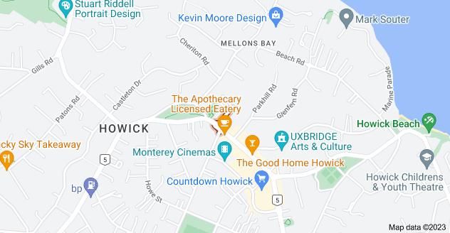 Location of Walter Macdonald Street