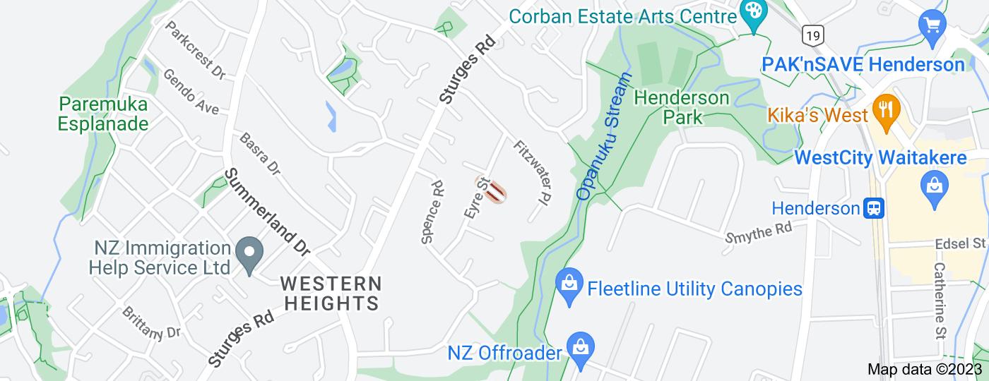 Location of Dundas Place