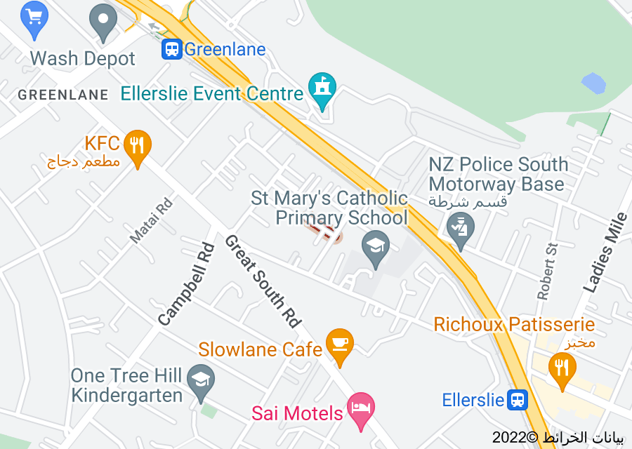 Location of Newhaven Street