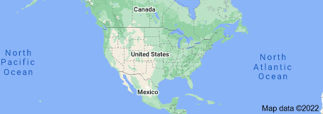 Location of United States of America