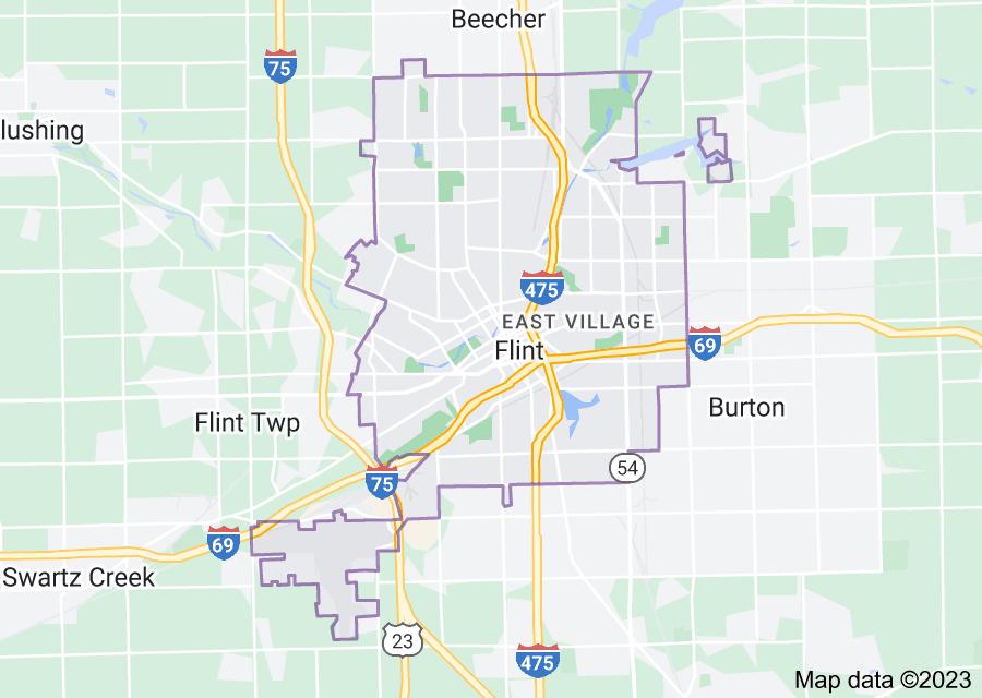 Location of Flint