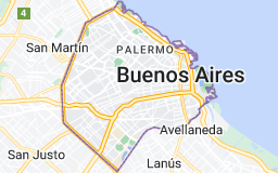 Location of Buenos Aires