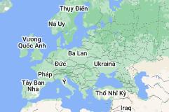 Location of Châu Âu