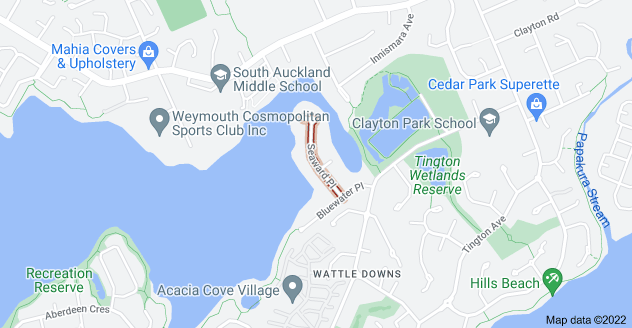 Location of Seaward Place