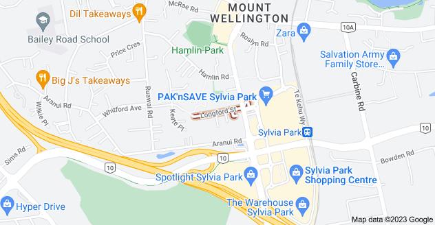 Location of Longford Street