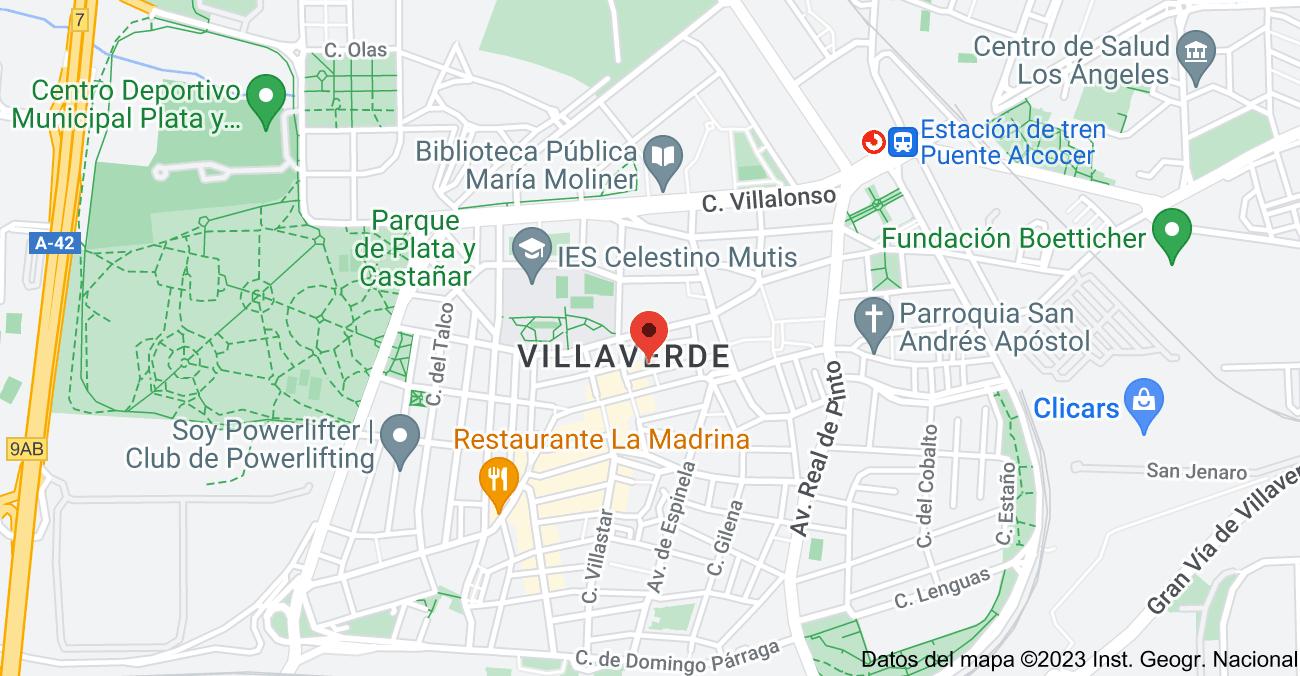 Mapa de Calle Sta. Cristina, 16, 28021 Madrid