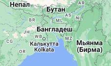 Location of Бангладеш