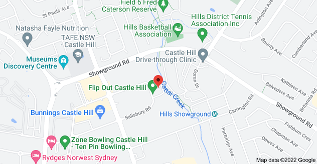 Map of 3/18 Anella Ave, Castle Hill NSW 2154