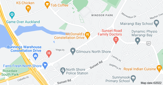 Location of Ascension Place