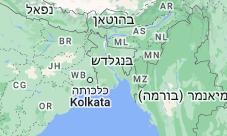 Location of בנגלדש