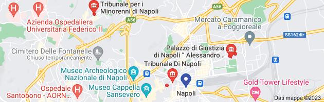 Mappa di: TRIBUNALE NAPOLI