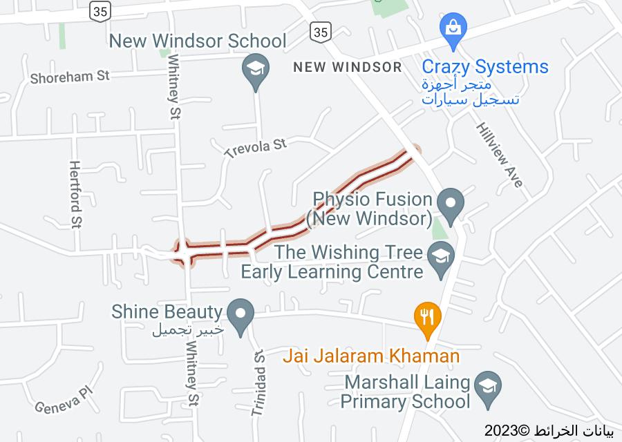 Location of Mulgan Street