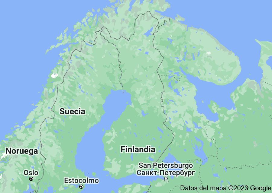 Location of Finlandia