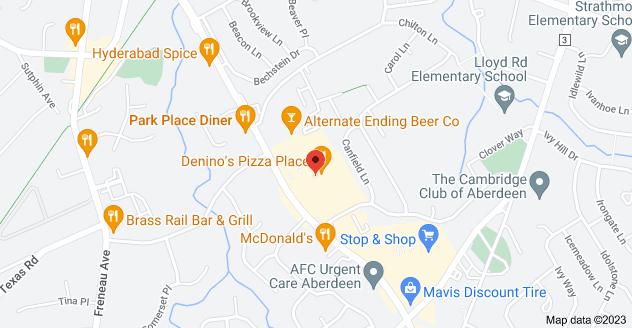 Map of 1077 NJ-34 Suite M, Aberdeen Township, NJ 07747, USA