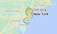 Location of নিউ জার্সি