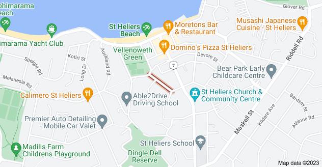 Location of Kaimata Street