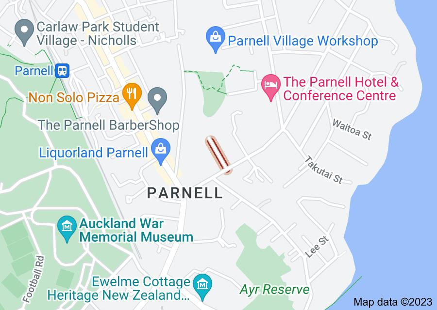 Location of Corunna Avenue