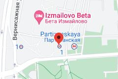 Location of Partizanskaya