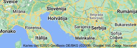 Location of Horvātija