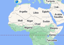 Mapa de Sahel
