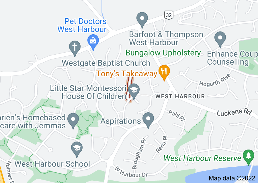 Location of Trengove Place