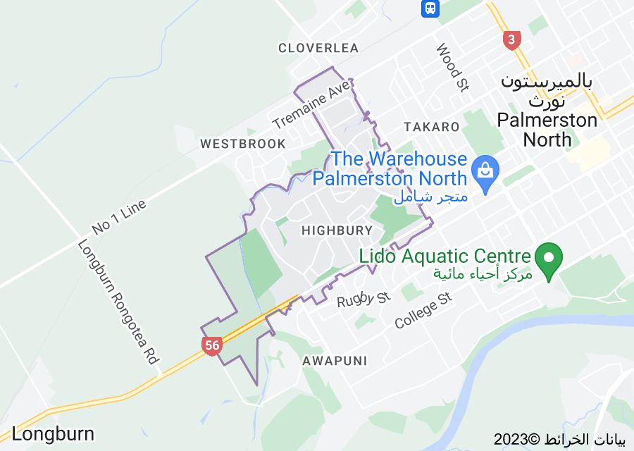 Location of Highbury
