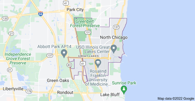 Limo Service North Chicago, Limo O'Hare to North Chicago, North Chicago Limo to Downtown Chicago, Book, Hire, Rent, North Chicago IL Limousine Services
