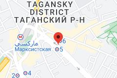 Location of Marksistskaya