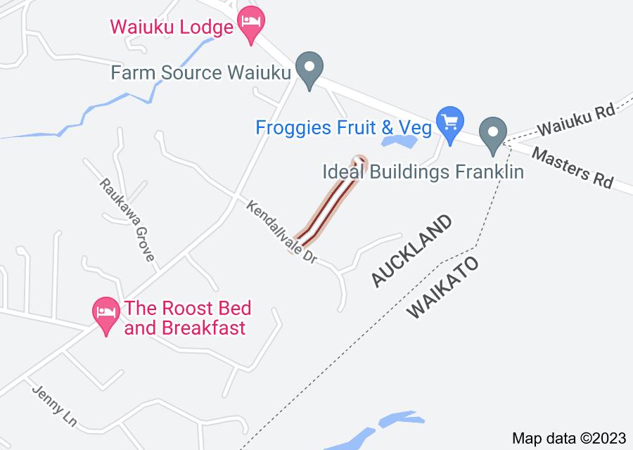 Location of Calderwood Close