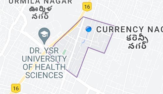 Map of Nagarjuna Nagar